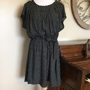 NWT Lauren Conrad Size XXL Black Belted Dress